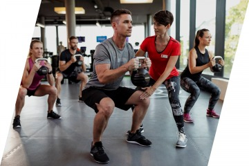 Functional Training bei Fitness First